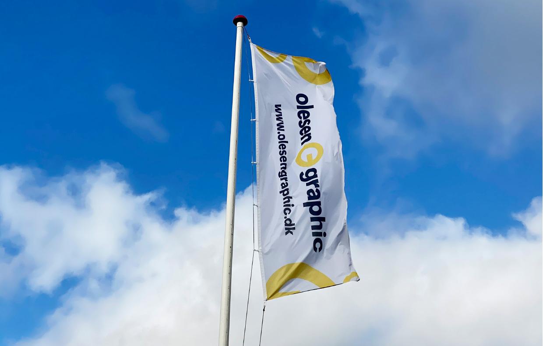 OlesenGraphic Reklameflag STOR